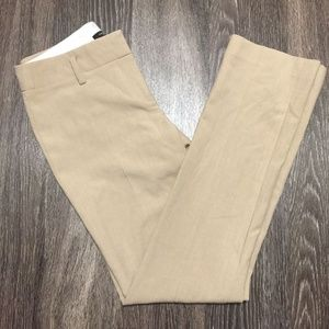 Ann Taylor career trousers in camel brown khaki